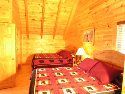Hour cabin rentals layz dayz lodge main page Master bedroom upstairs or downstairs